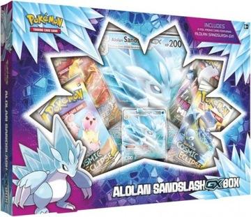 Pokemon TCG Alolan Sandslash-GX Box Karty доставка товаров из Польши и Allegro на русском