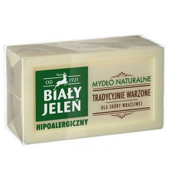 Белый Олень мыло натуральное МЫЛО 150 г доставка товаров из Польши и Allegro на русском
