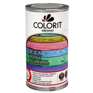 Морилка водная 500мл COLORIT 14 цветов доставка товаров из Польши и Allegro на русском