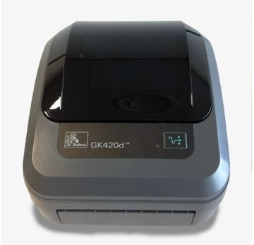 Принтер этикеток ZEBRA GK420d термопечать доставка товаров из Польши и Allegro на русском