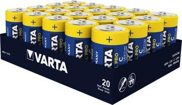 20x Varta Industrial LR14/C (лоток) доставка товаров из Польши и Allegro на русском