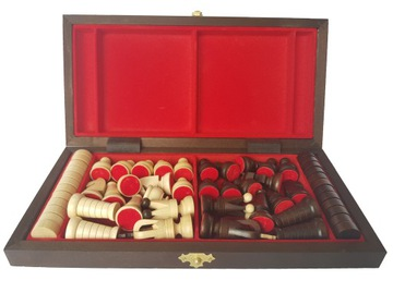 ШАХМАТЫ + ШАШКИ деревянные 2в1 единственная такая игра!! доставка товаров из Польши и Allegro на русском