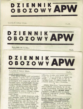 ДНЕВНИК ЛАГЕРЯ APW № 77 ВОСТОЧНАЯ ПОЛЬСКАЯ АРМИЯ 1 от 15 февраля 1941 г. Генерал Копанский  доставка товаров из Польши и Allegro на русском