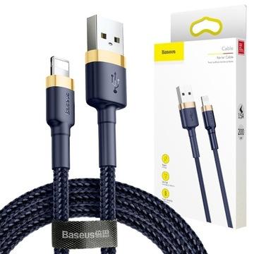 Baseus Кабель USB-Lightning 2М для Iphone 5 6 7 8 X доставка товаров из Польши и Allegro на русском
