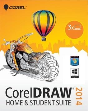 CorelDRAW X6 2014 Home and Student 3ШТ PL COREL доставка товаров из Польши и Allegro на русском