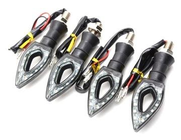 Указатели поворота мигалки стрелки 12 LED 4шт доставка товаров из Польши и Allegro на русском