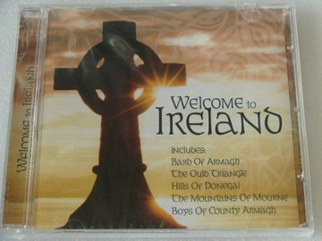 Welcome to Ireland CD UK 2004 NOWA доставка товаров из Польши и Allegro на русском
