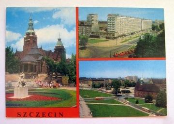 ПП 354 Щецин Валы Храброго панорама tramnwaj доставка товаров из Польши и Allegro на русском