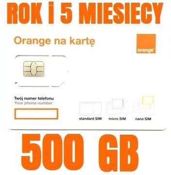 STARTER INTERNET ORANGE FREE 500GB ГОД +5 МЕСЯЦЕВ доставка товаров из Польши и Allegro на русском