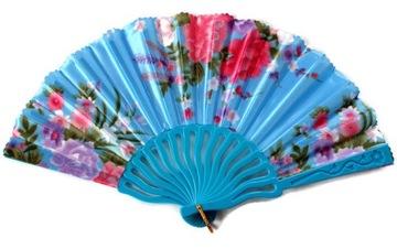 ВЕЕР узор цветы синий W10 /R28/ доставка товаров из Польши и Allegro на русском