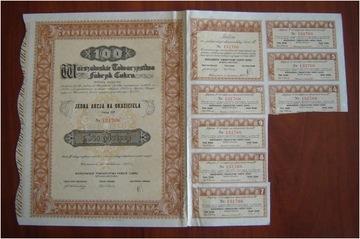 Варшавское Товарищество Фабрик Сахара S. A., 1937 доставка товаров из Польши и Allegro на русском