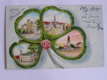 Zielona Góra Gruenberg koniczyna 1900 lit. sec доставка товаров из Польши и Allegro на русском