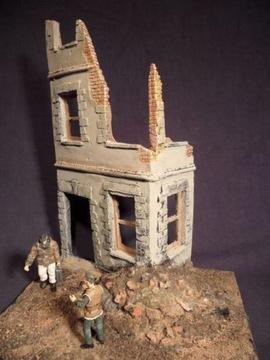 Руины дома в масштабе 1:35 доставка товаров из Польши и Allegro на русском
