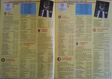 Сокровище фан - ЛИГА ЧЕМПИОНОВ - сезон 1997/98 доставка товаров из Польши и Allegro на русском
