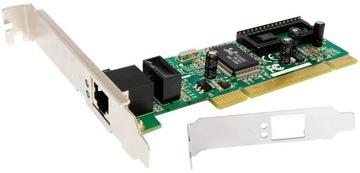 Сетевая карта Edimax PCI Giga Ethernet RJ45 LAN доставка товаров из Польши и Allegro на русском