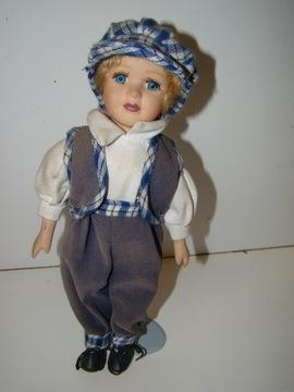 Кукла фарфоровая на подставке 30 см коллекционная доставка товаров из Польши и Allegro на русском