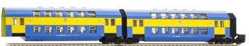 Два вагона кровать центральные РЖД Tillig 13748 доставка товаров из Польши и Allegro на русском