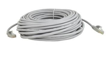 Сетевой кабель Ethernet Lan 5E Rj45 патч-корд 20м доставка товаров из Польши и Allegro на русском