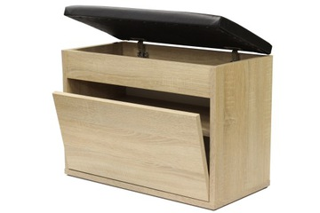 Тумба для обуви SEC60x30D сиденье, вещевой ящик 60см доставка товаров из Польши и Allegro на русском