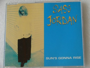 Sass Jordan - Sun's Gonna Rise Singiel 1994 BDB+ доставка товаров из Польши и Allegro на русском