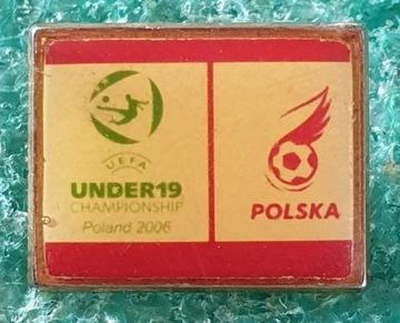 ЗНАЧОК UEFA CHAMPIONSHIP UNDER-19 RUSSIA 2006 доставка товаров из Польши и Allegro на русском