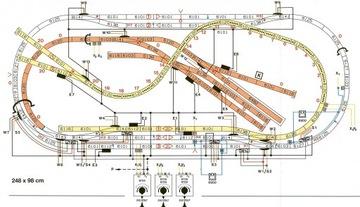 Планы макетов железнодорожных H0,TT-электрические схемы доставка товаров из Польши и Allegro на русском