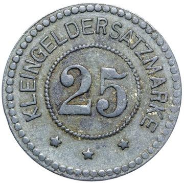 + Грайфсвальд - NOTGELD - 25 Pfennig 1917 - цинк доставка товаров из Польши и Allegro на русском