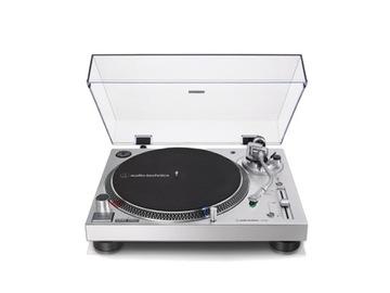 Проигрыватель виниловых пластинок Audio-Technica AT-LP120xUSB серебро доставка товаров из Польши и Allegro на русском
