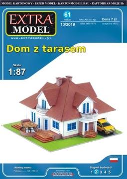 Дом с террасой _ 1:87 H0 Extra Модель доставка товаров из Польши и Allegro на русском