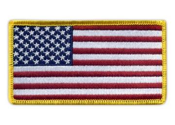 Полоса - Флаг Государственная США - merrow, вышивка доставка товаров из Польши и Allegro на русском