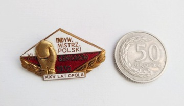 Odznaka Mistrzostwa Seniorów w Boksie 1970 доставка товаров из Польши и Allegro на русском