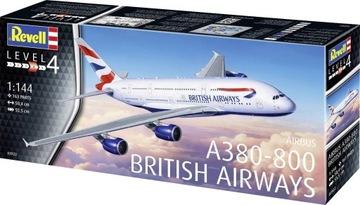 Airbus A380-800 British Airways Revell 03922 1/144 доставка товаров из Польши и Allegro на русском
