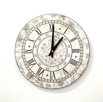Zegar ścienny ZH14 retro vintage 30cm