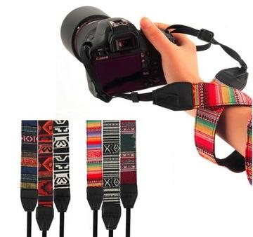 Ремень для камеры Canon Nikon Sony Pentax Olympus доставка товаров из Польши и Allegro на русском