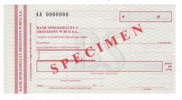 чек печатается Банк Экономический Союз BUG4 доставка товаров из Польши и Allegro на русском
