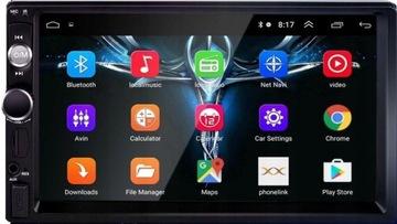 Радио 2DIN Навигация GPS Android 8.1 WiFi доставка товаров из Польши и Allegro на русском