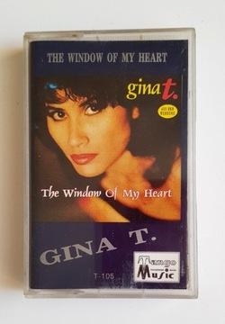 GINA T. THE WIDOW OF MY HEART кассета аудио доставка товаров из Польши и Allegro на русском