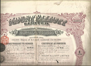 !ШАХТЫ МЕДИ! МАУНТ-ЭЛЛИОТ! АВСТРАЛИЯ! 1913! доставка товаров из Польши и Allegro на русском