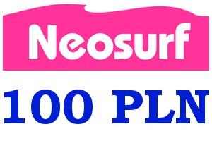 ВАУЧЕР NEOSURF 100 ЗЛОТЫХ PLN доставка товаров из Польши и Allegro на русском
