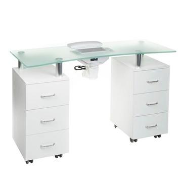 Стол для маникюра стол с поглотителем 3425-1+P доставка товаров из Польши и Allegro на русском
