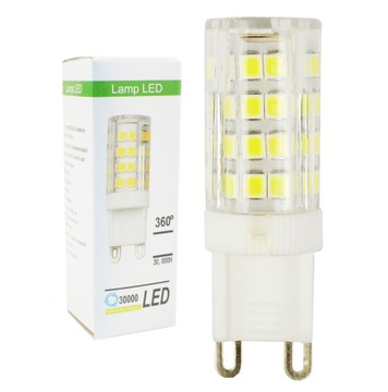 Лампа G9 51 LED 5W=40W 620lm 220-230В НЕЙТРАЛЬНАЯ доставка товаров из Польши и Allegro на русском