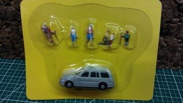Авто фигурки туристы человечков персонажи Eaglemoss H0 доставка товаров из Польши и Allegro на русском