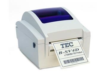 DRUKARKA TERMICZNA ETYKIET TOSHIBA TEC B-SV4D USB доставка товаров из Польши и Allegro на русском