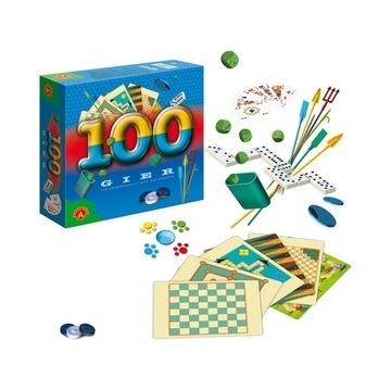 100 ИГР Набор классических настольных игр доставка товаров из Польши и Allegro на русском
