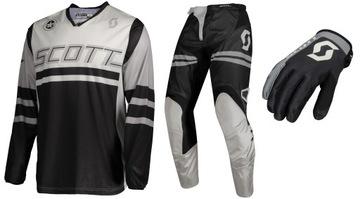 СКОТТ Комплект 350 RACE штаны, футболка, перчатки доставка товаров из Польши и Allegro на русском