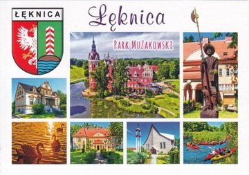 ŁĘKNICA - KOŚCIÓŁ - HERB - PARK MUŻAKOWSKI- UNESCO доставка товаров из Польши и Allegro на русском
