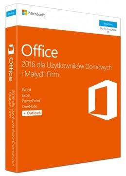 НОВЫЙ MS Office 2016 для БИЗНЕСА И ДОМА КОРОБКА Коробка PL доставка товаров из Польши и Allegro на русском