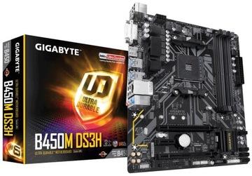 OUTLET Płyta główna Gigabyte B450M DS3H AMD Ryzen доставка товаров из Польши и Allegro на русском