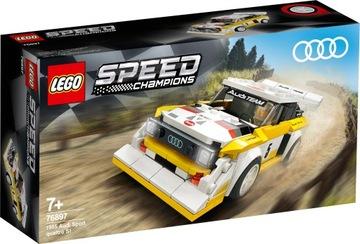 LEGO SPEED CHAMPIONS Audi Sport quattro S1 76897 доставка товаров из Польши и Allegro на русском