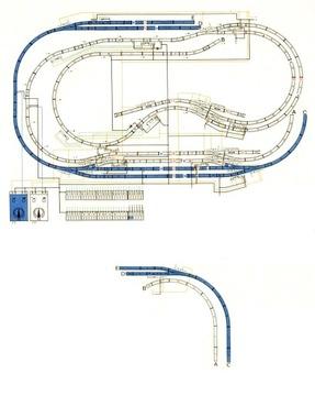 Планы макетов железнодорожных H0 + электрические схемы доставка товаров из Польши и Allegro на русском